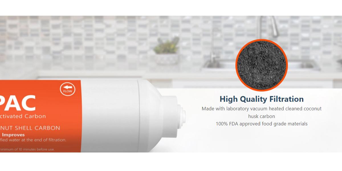 pentapure post carbon filter