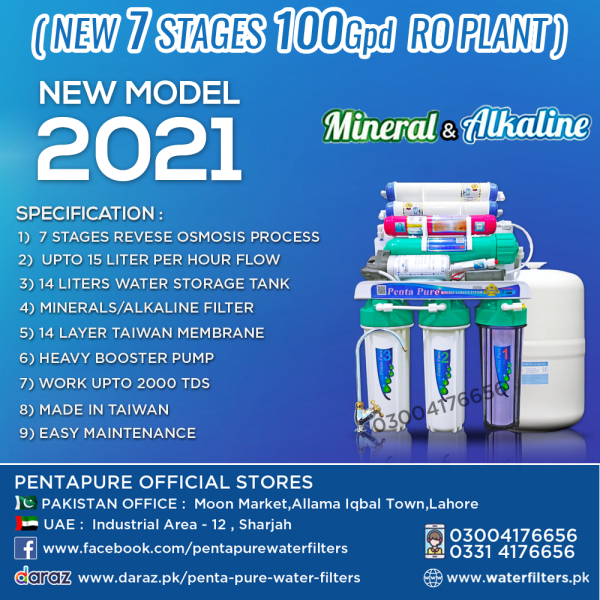 best water filter in pakistan pentapure ro plant