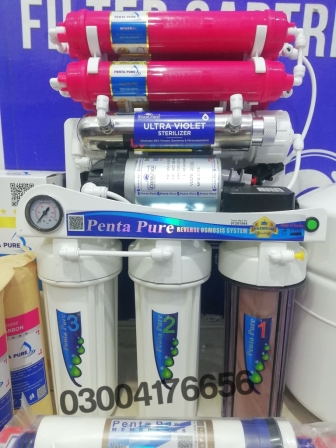 pentapure 9 stages ro plant water filter